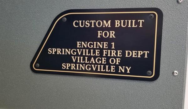 Village of Springville Vol. Fire Dept